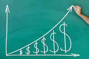 Sales Increase Graph