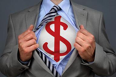 successful small business superhero
