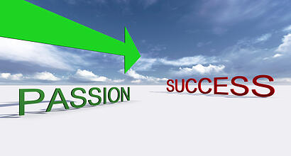 passion in a successful small business