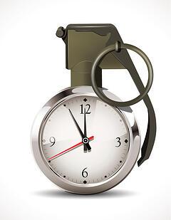 time management grenade