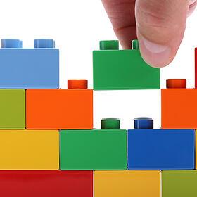 Internet Marketing Consultant lego blocks