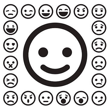 various_different_smiley_faces