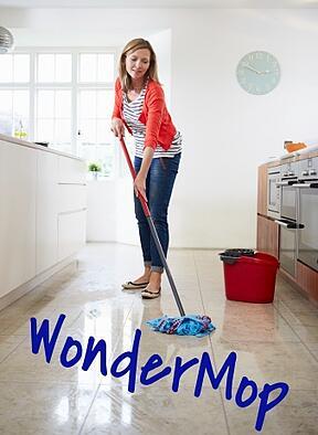 WonderMop_Woman_mopping_kitchen