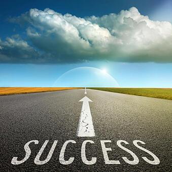 success_writen_on_road_479386451