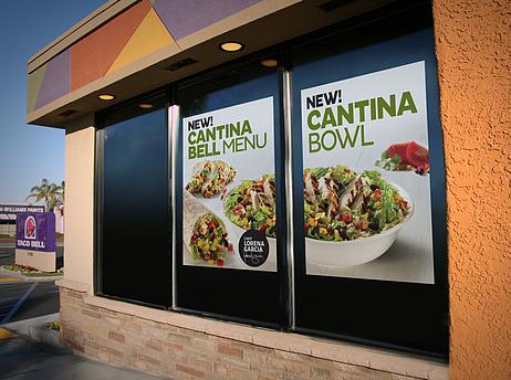 Taco Bell Cantina Menu