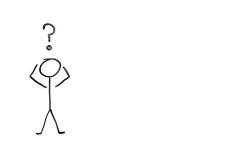 confused stick figure