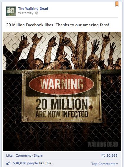 Walking Dead Facebook