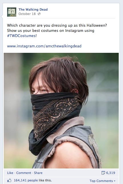 Walking Dead Instagram