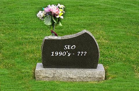 SEO gravestone