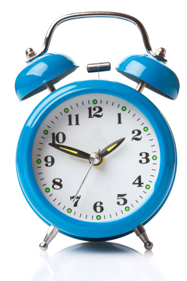 Time clock for blogging