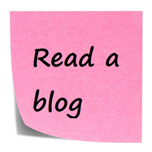 read a blog