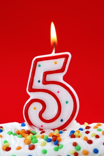 number_5_birthday_candle