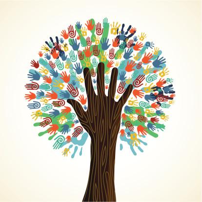 diversity_tree_hands_pattern