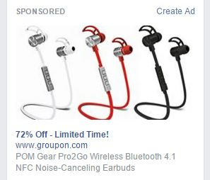 facebook_sidebar_ad_wireless_earbuds
