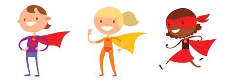 Super Hero Personas as Secret Weapon